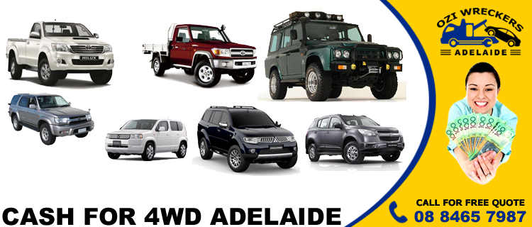 Cash for 4wd Adelaide