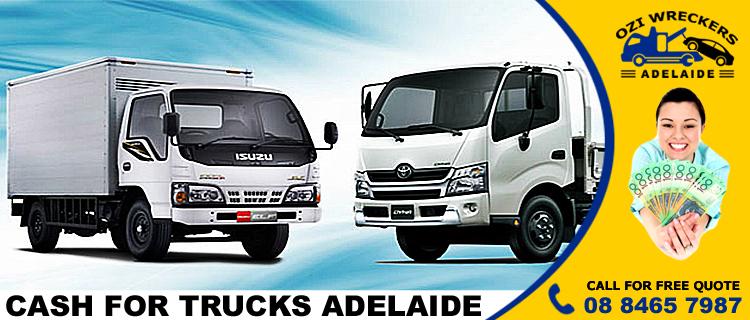 Cash for Trucks Adelaide