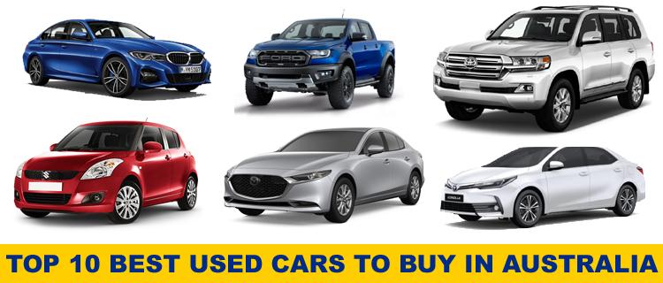 Top 10 Best Used Cars to Buy in Australia