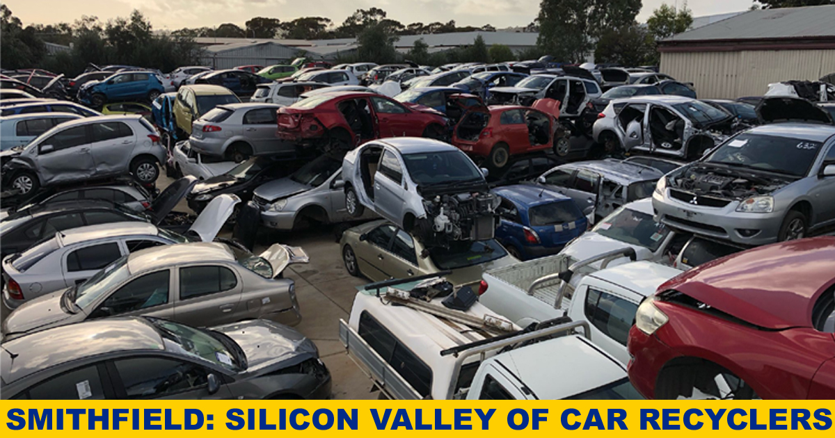 Smithfield: Silicon Valley of Car Recyclers